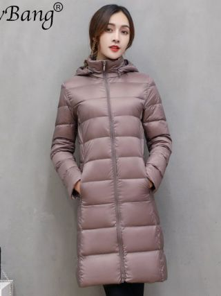 Model Lengthy Winter Down Jackets Girls Down Jacket