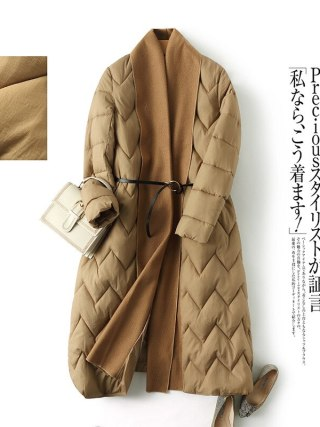 Unique vogue fashion winter lengthy girls's jacket