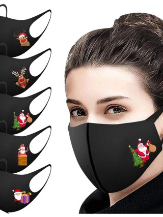 Grownup Christmas Face Masks for Safety