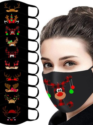 Grownup Outside Masks Cotton Christmas Face Masks
