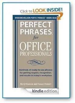 Perfect phrases
