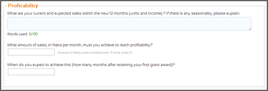 6 YouWIN Business Profitability Question