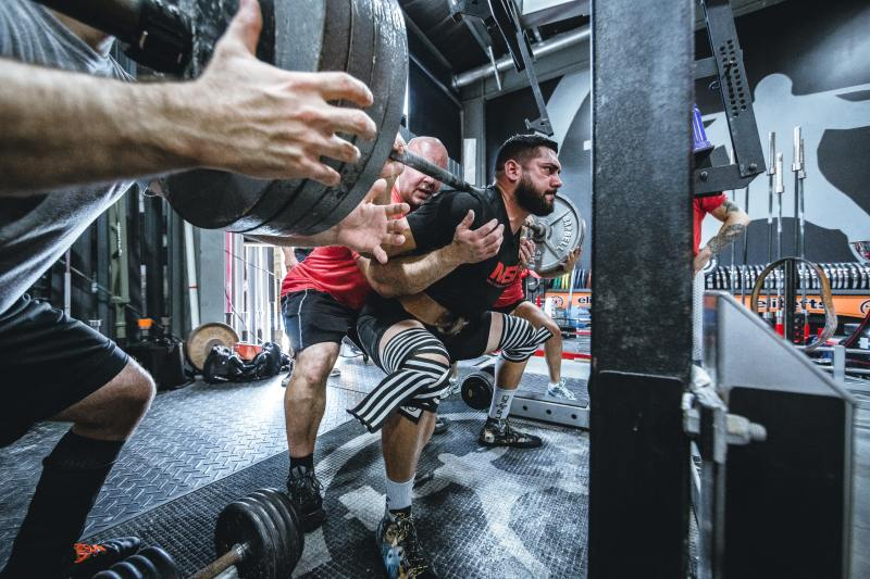 A heavy squat is one of the surest visible signs of foundational strengths.
