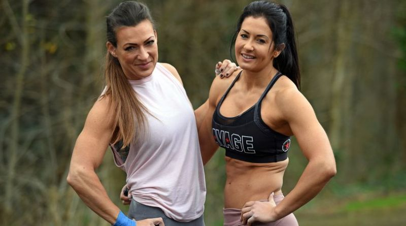 Lianne Thomas, left, and Katie Cork, are both committed CrossFitters in Cardiff (Image: Richard Swingler)