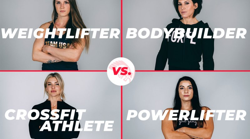 The 2019 Brute Showdown features a bodybuilder, powerlifter, CrossFitter, and an olympic weightlifter facing off.