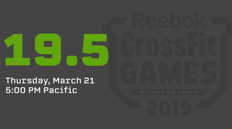 CrossFit Open 19.5 Announcement & Live Stream: How to Watch