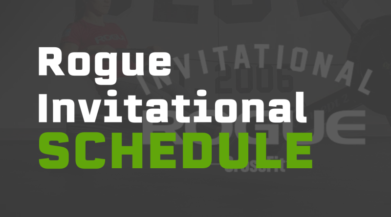 Check out our breakdown of the events, workouts, and schedule for the 2019 Rogue Invitational Sanctional event