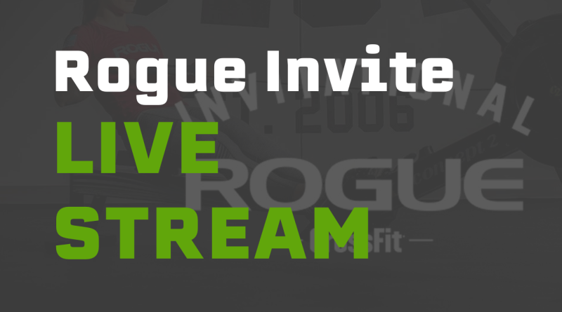 Watch Rogue Invitational Live Stream. Logo courtesy of Rogue Invitational