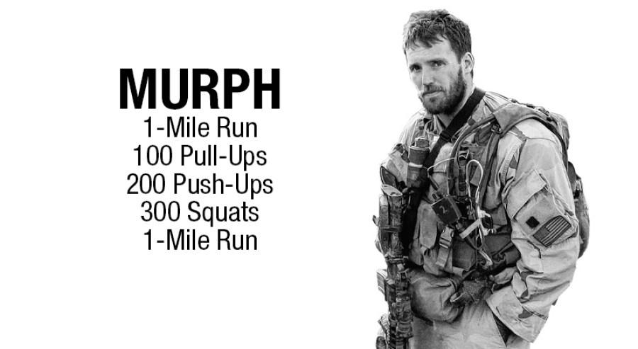 WOD hero Murph crossfit