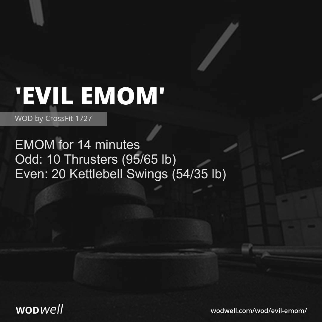 Quot Evil Emom Quot Wod