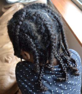 curls braids plaits healthy hair