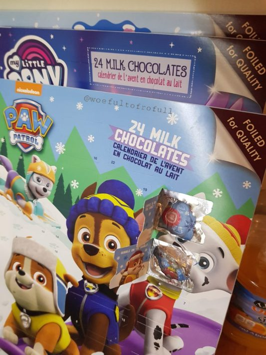advent calendar paw patrol woeful to frofull pet peeve