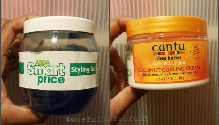 asda smart price gel cantu coconut curling cream woeful to frofull