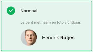 Sportlink app privacyniveau normaal