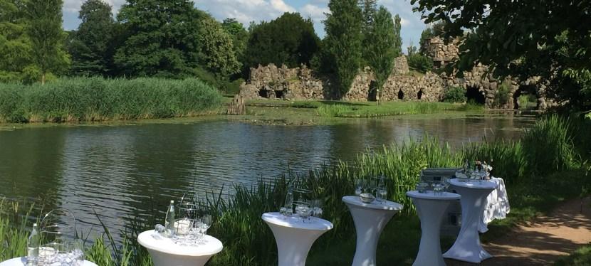 Kulinarische Weinwanderung durch den Wörlitzer Garten