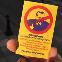 """Erdogan verhindern… In Österreich hatten wir """"Schwarzblau verhindern"""""""