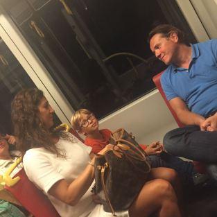 Besuch von Leo, Gina und Ben