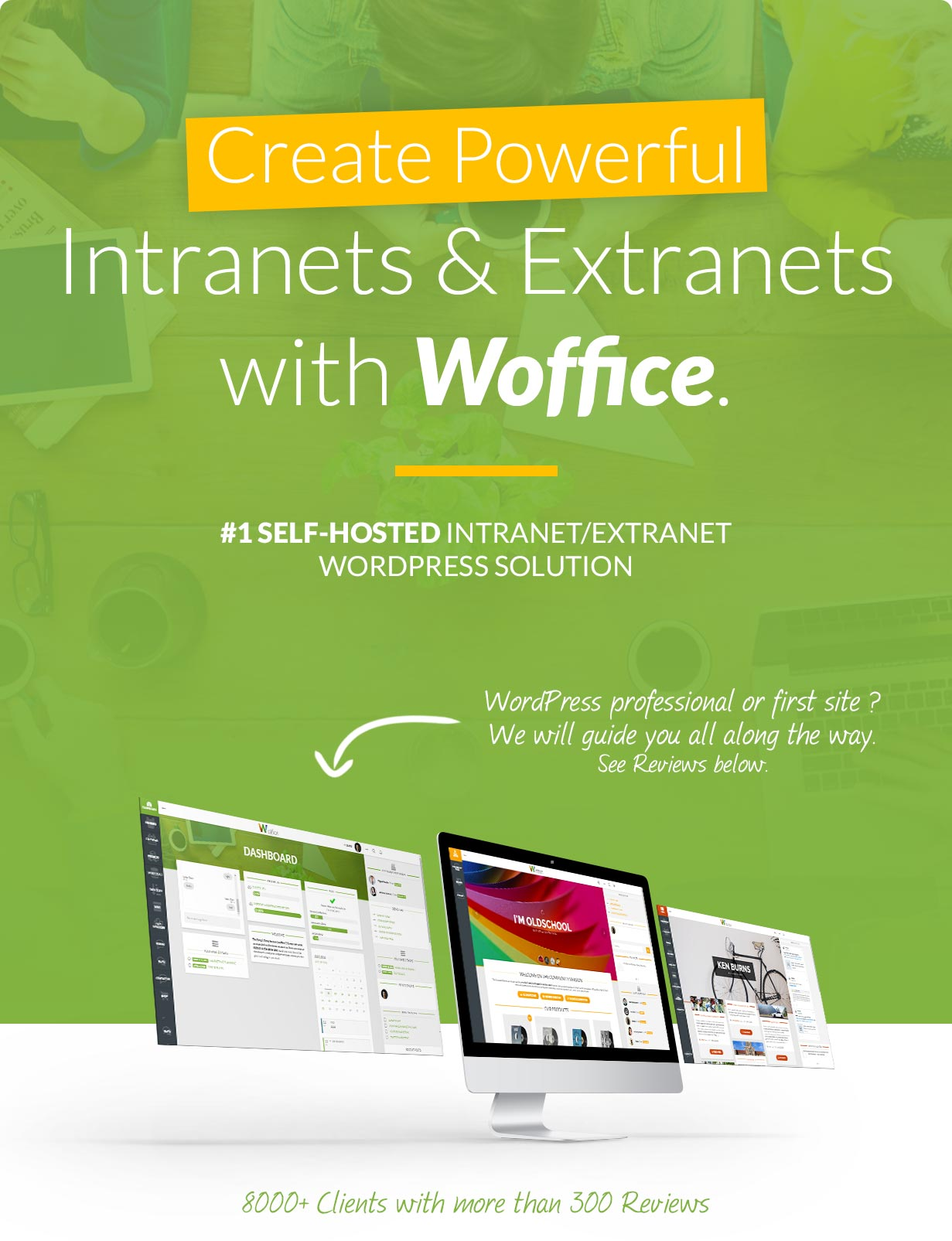 Woffice – Intranet/Extranet WordPress Theme | Get Knows