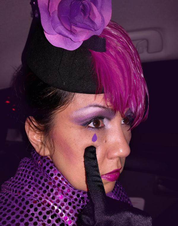 purple tear