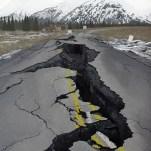 Collapse V (Seward Highway, Alaska 1964)