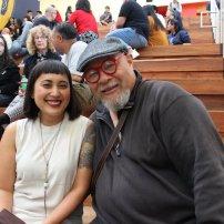 Thea Quiray Tagle and Dewey Crumpler (photo: Erina Alejo)