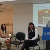 Alleluia Panis, Filipino American Arts panel (with Mike Arcega, Kim Arteche, Patricia Cariño Valdez, Woff) (photo: Anth Bongco)