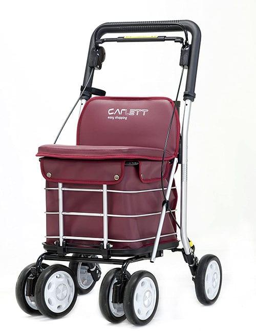 количка за пазаруване с голям капацитет