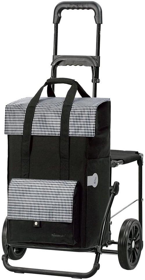 kolieska nákupná taška na kolieskach
