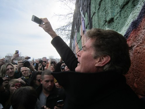 The Hoff – ein Happening an der East Side Gallery