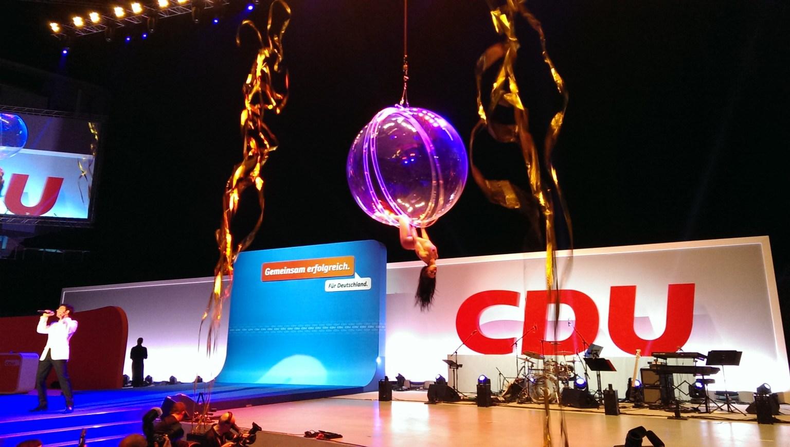 CDU-Wahlkampfauftakt in Düsseldorf