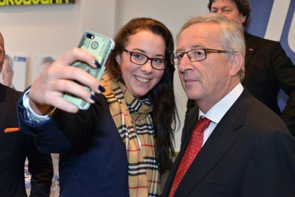 Jean Claude Juncker, Yvonne Färber
