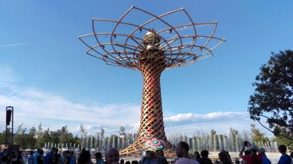 Expo Mailand 2015 - Baum des Lebens