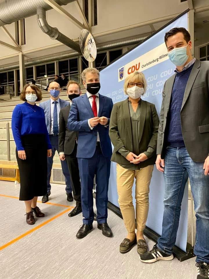 Gewählte Kandidaten des CDU Ortsverbandes Charlottenburg