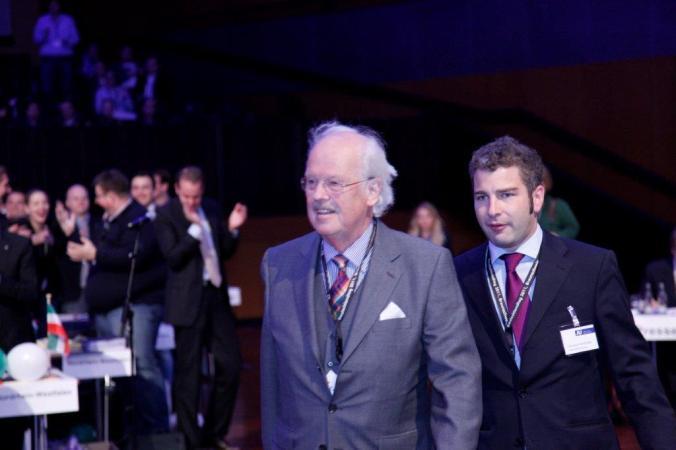Mit Otto Wulff auf dem Deutschlandtag 2011