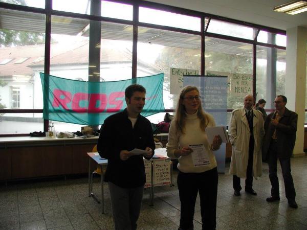 Als RCDS-Landesvorsitzender 2003 in Greifswald