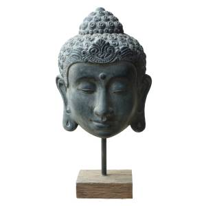 buddha kopf auf staender