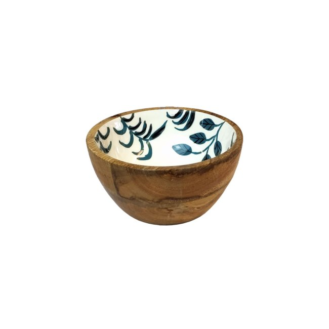 Holzschale Mango Holz 15 cm Durchmesser