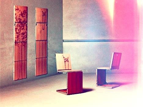 Stühle An Die Wand Hängen stühle als wanddeko als stühle wohnbu de