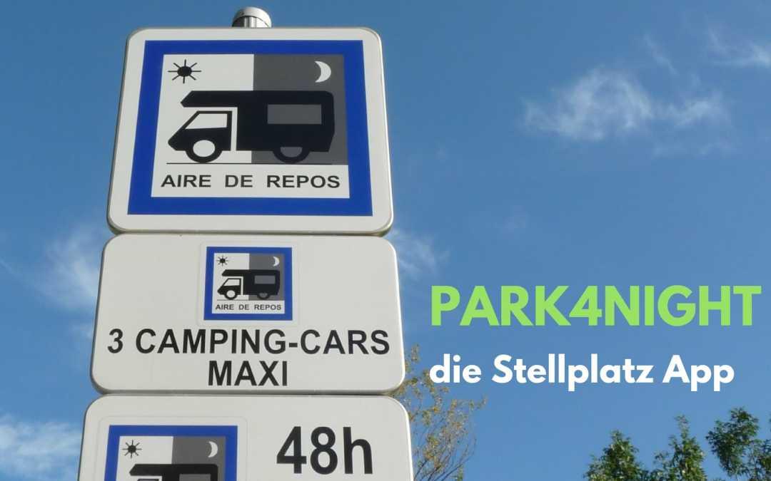 Park4Night – die Stellplatz App