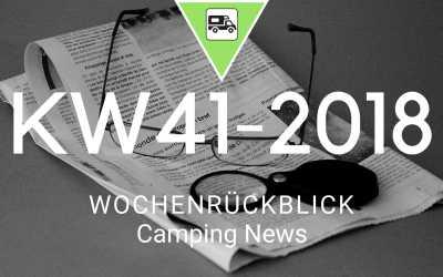 Camping News Wochenrückblick – KW41/2018
