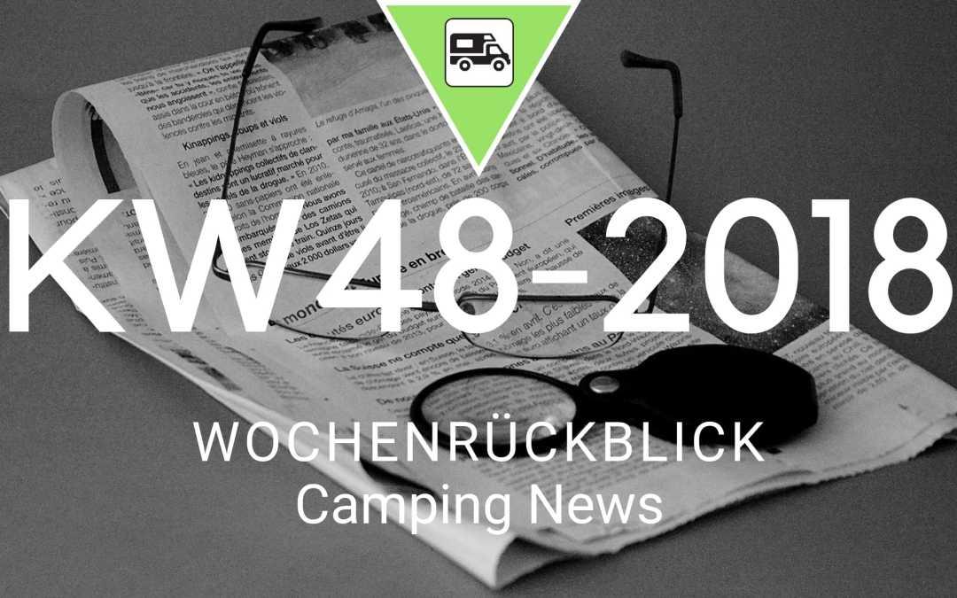 Camping News Wochenrückblick – KW48/2018