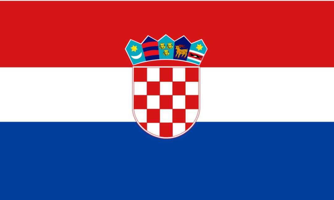 kroatien camping flagge