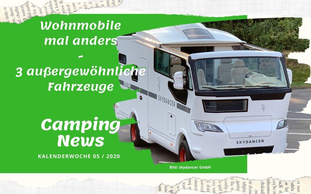 Wochenrückblick Camping News KW05-2020
