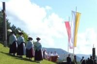 Feldgottesdienst an der Puit in Wallgau
