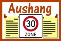 Tempo 30-Zonen in Wallgau