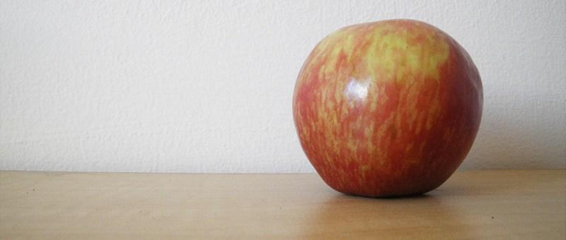 Foto Ein Apfel