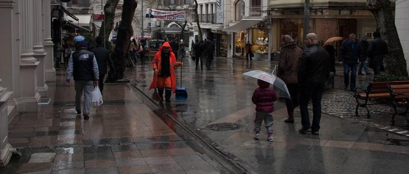 Foto Straßenfeger in Istanbul