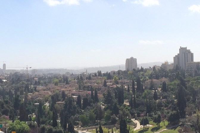 Foto Aussicht von der Stadtmauer