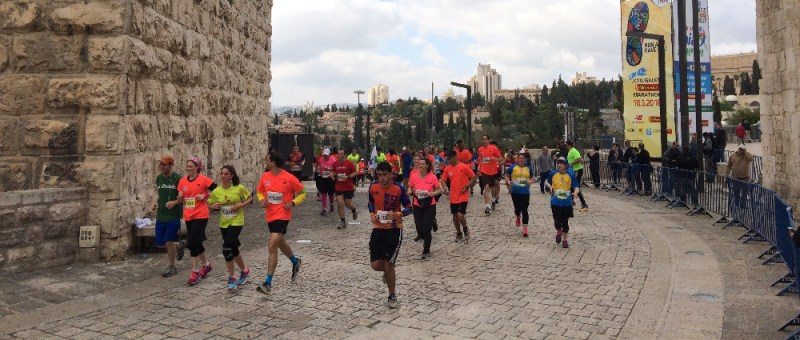 Foto Marathon in der Altstadt