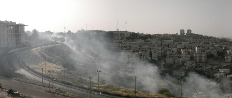 Foto Rauchende Slums?